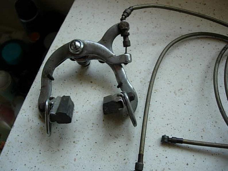 vintage brakes off a bsa bicycle