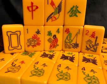 Mahjong set | Etsy