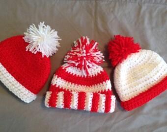 88920980150 Where s Waldo Inspired baby Crochet Hat