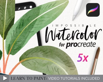 Amazing Watercolor Painting kit for Procreate