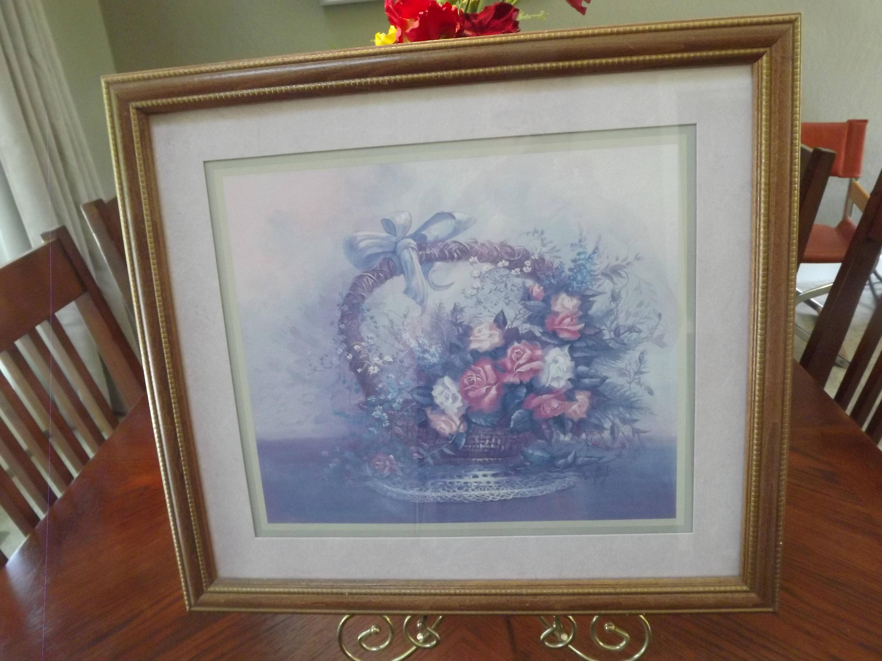 Retired Home Interiors And Gifts Lithograph By Carl Valente Etsy