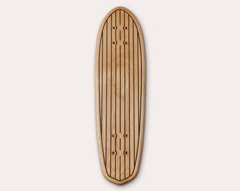Skate MINI CRUISER #2 600 MM solid wood (oak) ship