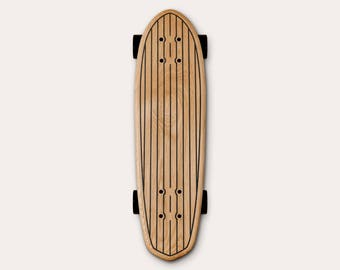 Skate MINI CRUISER #2 600 MM + SETUP solid wooden (oak) ship