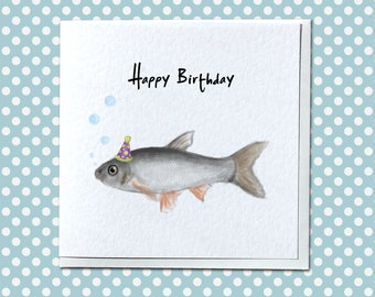 Personalised Fish Birthday Card