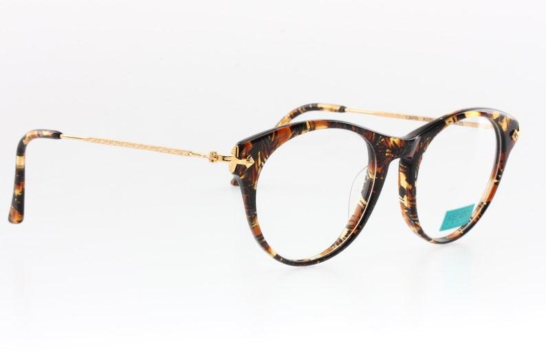 bfa61c2cabb9 Kenzo cat eye round sunglasses. tortoise demi amber color | Etsy