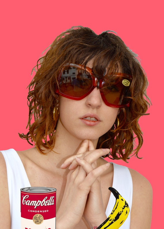 Seventies and very Gucci look! Orange to red colo… - image 2