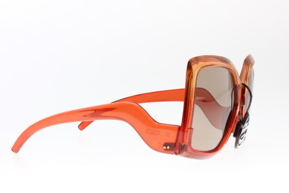 Seventies and very Gucci look! Orange to red colo… - image 6