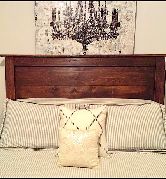 Farmhouse Headboard. Rustic. Vintage. Bedroom Furniture. Rustic Home Decor.  Twin. Full. Queen. King. Country Home Decor.