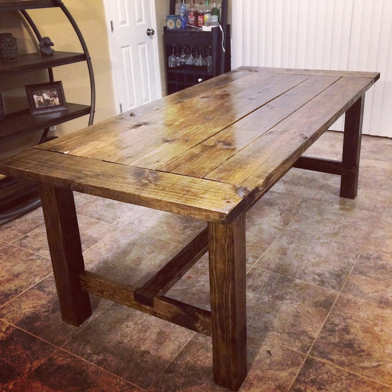Farmhouse Table. NASHVILLE LOCAL ONLY.
