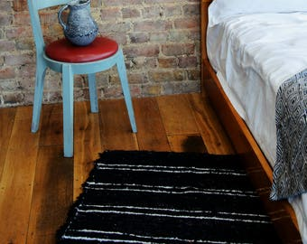 Black and White Rugs, Beni ourain rug, Modern rug, Pattern rugs, Berber Rugs, Area rugs, Tapis, Teppich, Cotton | Eco friendly | Washable.