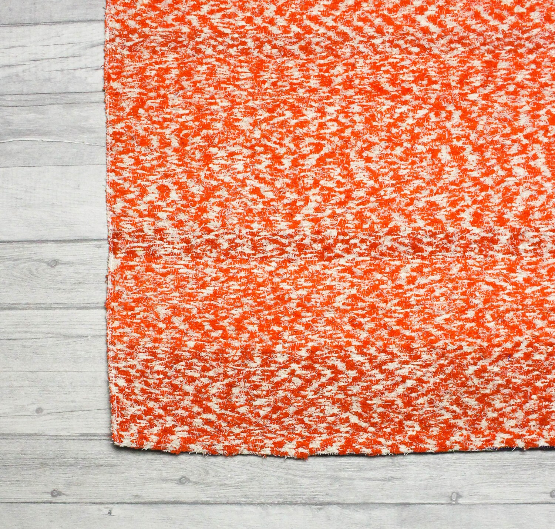 Orange Rug. Area Rug Modern Rug Bohemian Rug Kids Bedroom