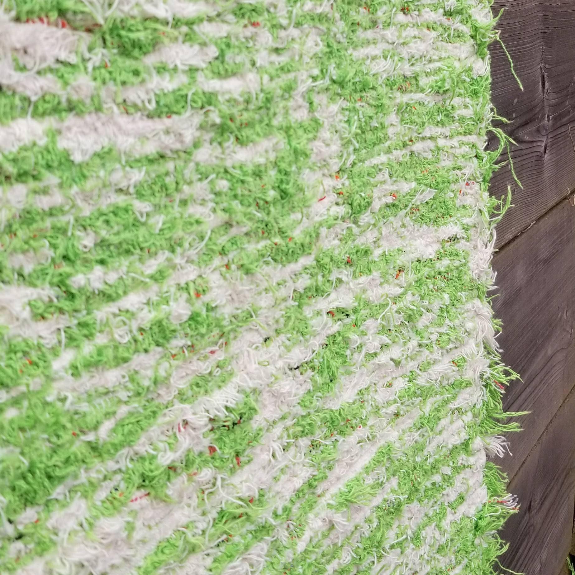 Green Runner Rug 65x240 Cm 2'2 X 7'8 Rug Runners