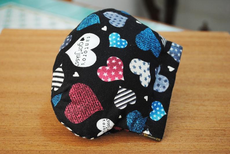 hearts collection fabric simply Gorjuss Santoro. Spring coin purse