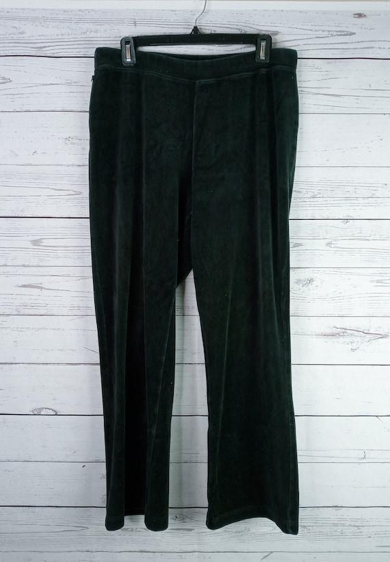 Vintage Lauren Ralph Lauren Sweatpants Womens Blac