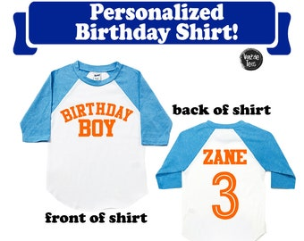 More Colours Birthday Boy Shirt