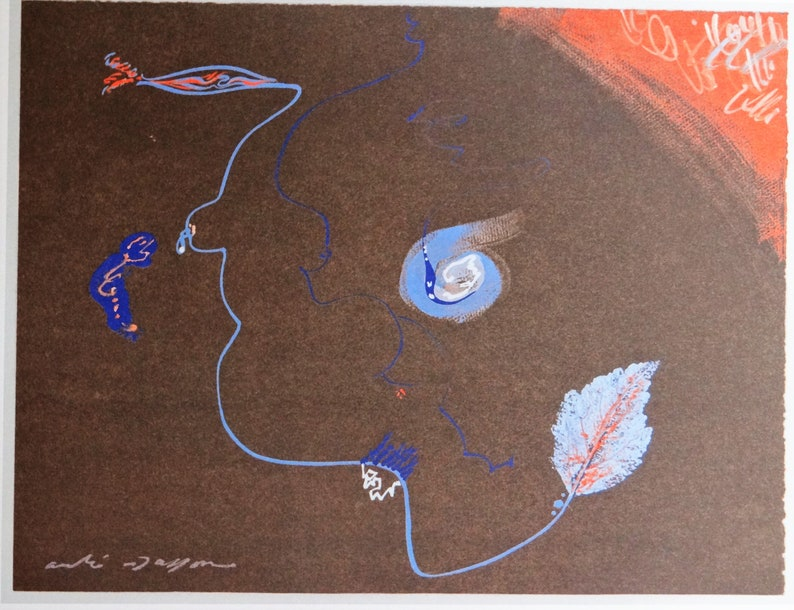 André Masson reproduction of a work dating from 1958 image 0