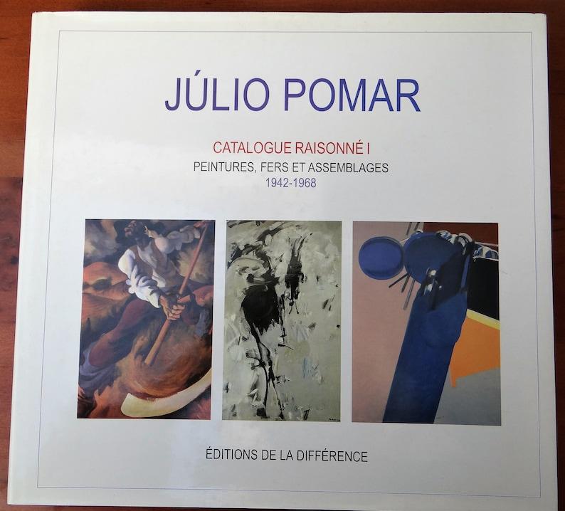 Julio Pomar Reasoned Catalogue I Iron Paintings and image 0