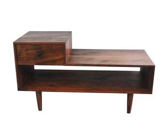 Mid Century Side Table, Mid Century Table, Modern Side Table, Modern Table,  Mid Century Nightstand, Mid Century Modern Side Table