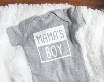 Mama's Boy  Bodysuit