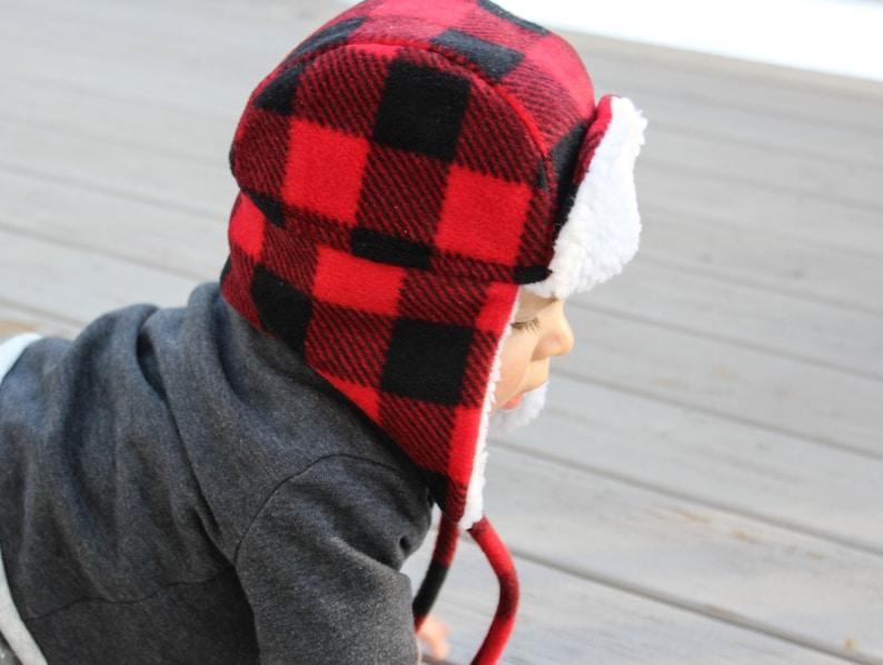 3e9986553796e7 Baby Bomber Hat Trapper Hat Lumberjack Hat | Etsy