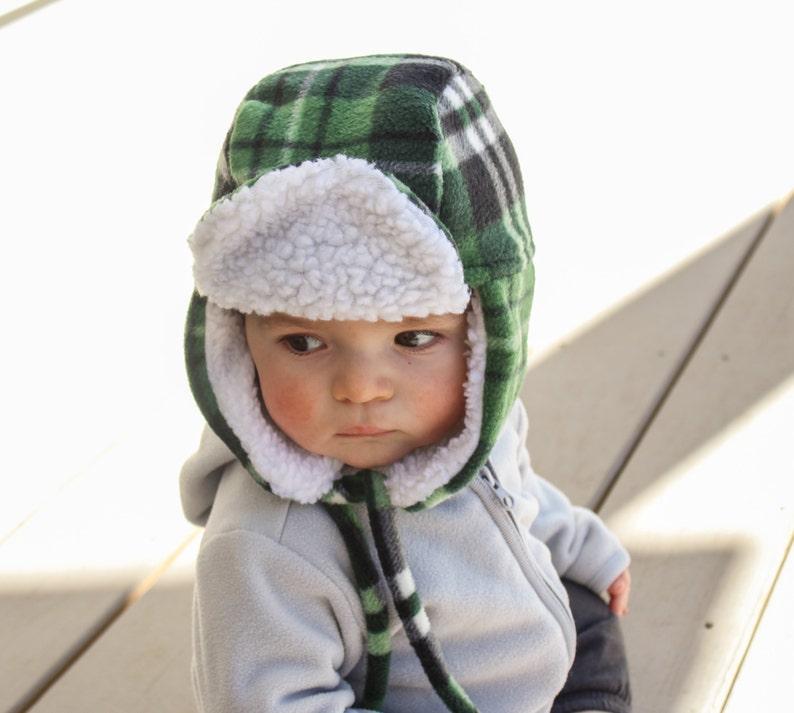 30565c774abc7 Baby Bomber Hat Trapper Hat Lumberjack Hat