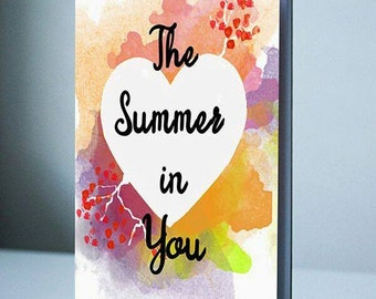 The Summer in You (A Chapbook of Fourteen Gender Neutral Love Poems)