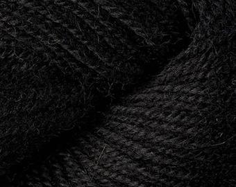 Ultra Alpaca Light 4245 Black 6.75 +1.50ea to Ship - Superfine Alpaca, Peruvian Wool by Berroco +Free Patterns. Soft, Light, Warm.