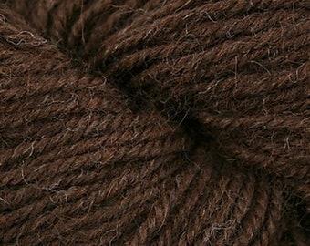 Ultra Alpaca Light 4205 Chocolate Brown 6.75 +1.50ea to Ship - Superfine Alpaca, Peruvian Wool by Berroco +Free Patterns. Soft, Light, Warm.
