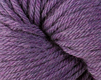 Berroco Vintage CHUNKY 6183 Plum 7.50 +1.50ea to Ship +Free Patterns Shown. Soft, Durable, Nice Definition, Machine Wash/Dry. MSRP 8.50