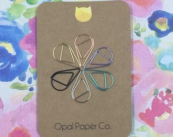 Raindrop Paper Clip (Set of 2)