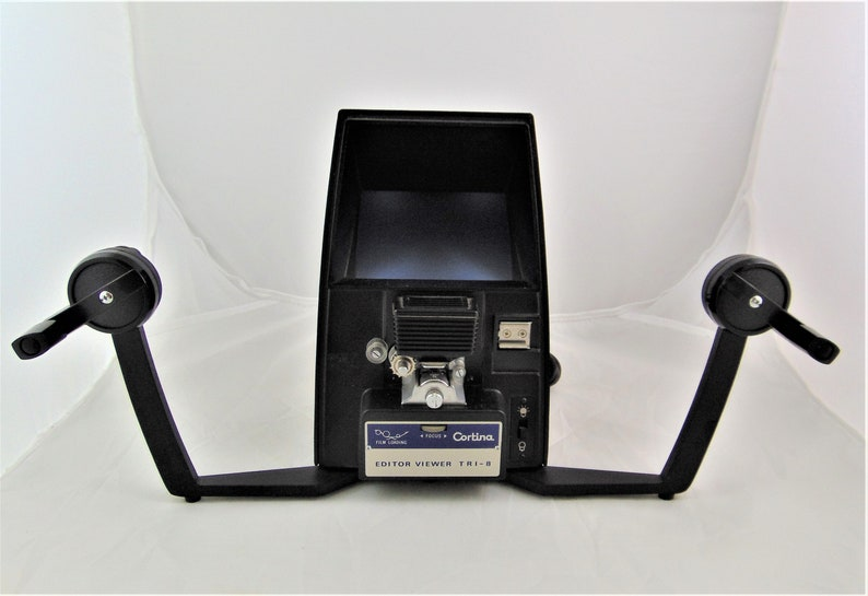 Cortina Editor Viewer Tri-8, Model PE-333, Made In Japan - for Super 8,  Standard 8 and Single 8 Film