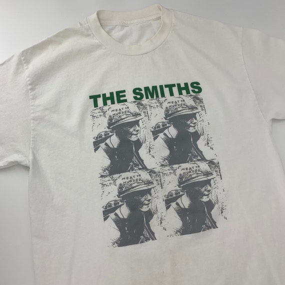 Vintage The Smiths Meat Is Murder Band T-Shirt 199