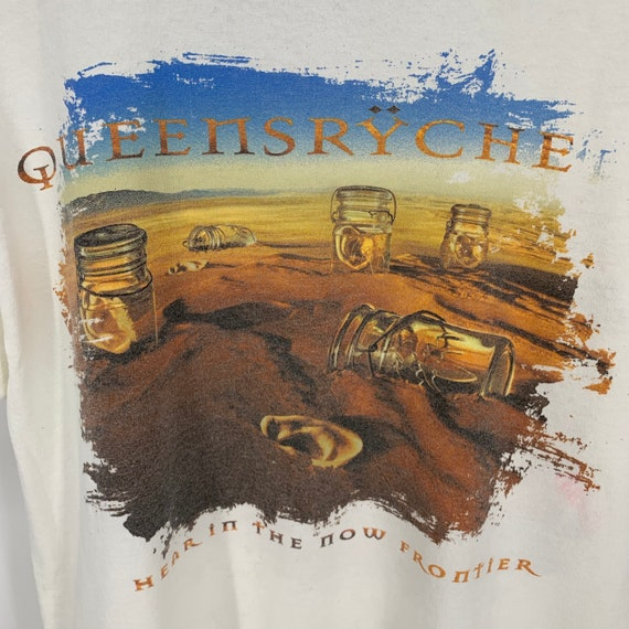 Vintage 1990s Queensryche Hear In The Now Frontier