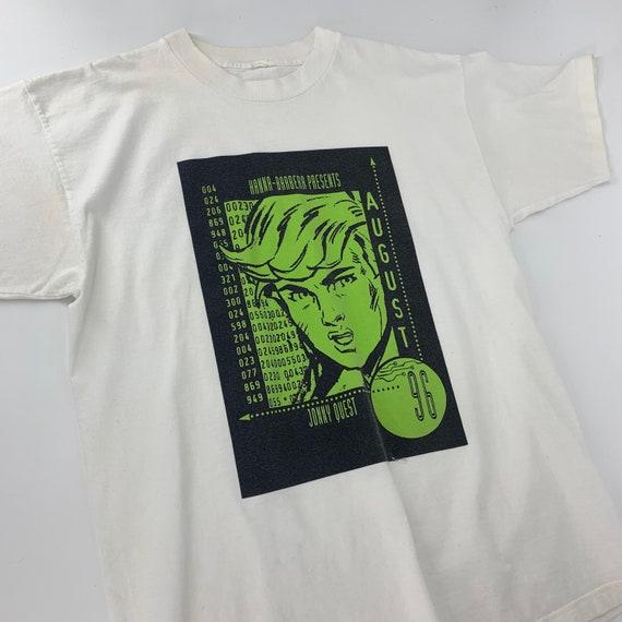 Vintage 90s Johnny Quest Cartoon Promo T-Shirt 199