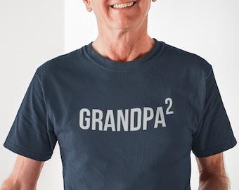 Papa Again | Baby Announcement to Grandpa  | Soon to be Grandpa again | Custom Shirt for Second time Grandpa