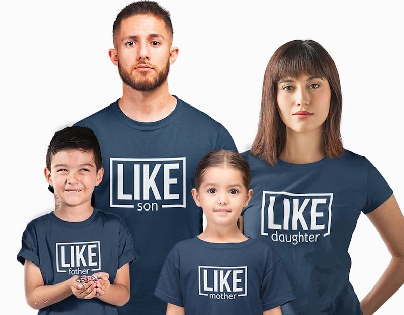 Players 1-5 choose 1-5 tees Daughter /& Son Matching Family T-shirts Dad Mum