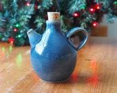 Ceramic Olive Oil Dispenser, Oil Bottle, Mini Vase