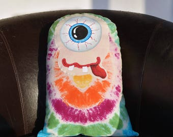 Occulus the Handpainted Cuddle Monster Pillow Toy