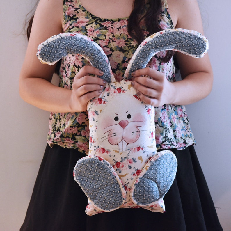 Bertram the Cuddle Bunny Pillow Toy
