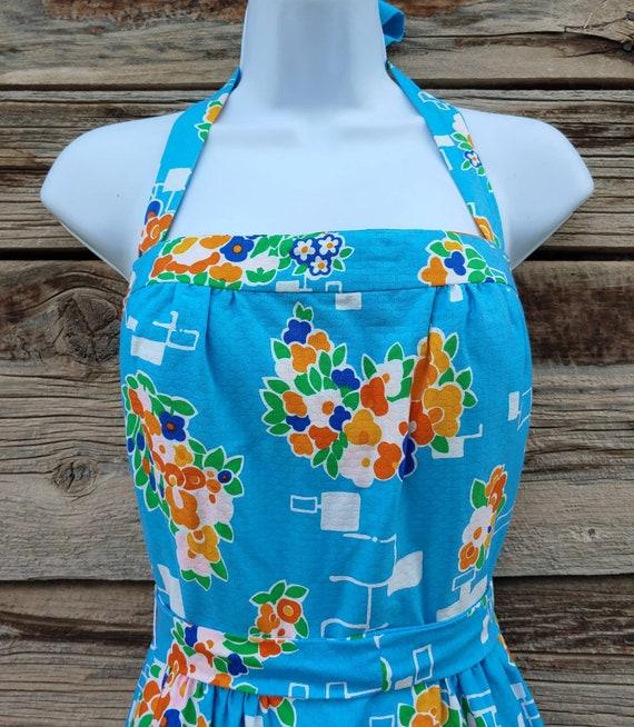 """Vintage 1960s / 1970s Blue """" Malia Honolulu """" Haw… - image 3"""