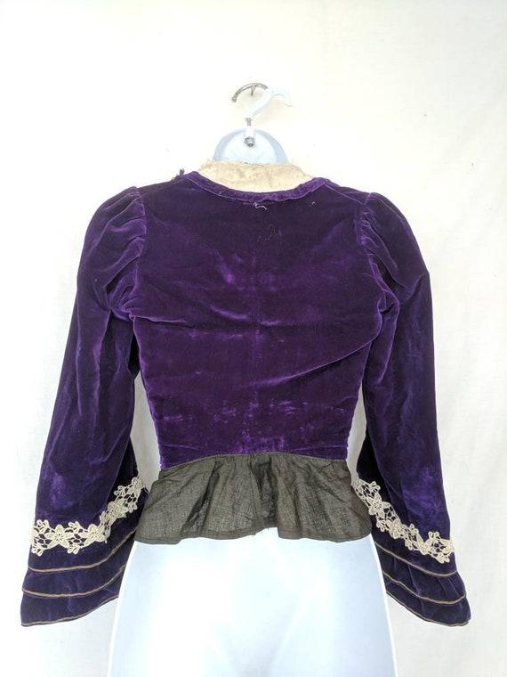 Rare Antique 1890's Shirtwaist / Bodice - image 3