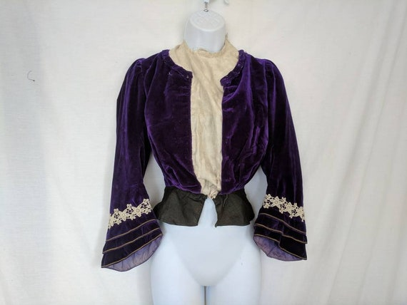 Rare Antique 1890's Shirtwaist / Bodice