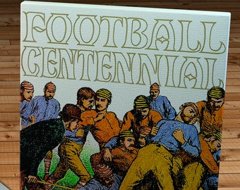 1969 Vintage Rose Bowl - USC Trojans  - Ohio State Buckeyes Football Program - Canvas Gallery Wrap