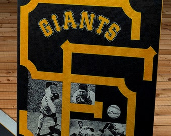 1967 Vintage San Francisco Giants Yearbook - Canvas Gallery Wrap -  11x 14 #BB265