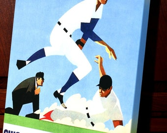 1970 Vintage Chicago Cubs Baseball Program - Canvas Gallery Wrap    #BB063