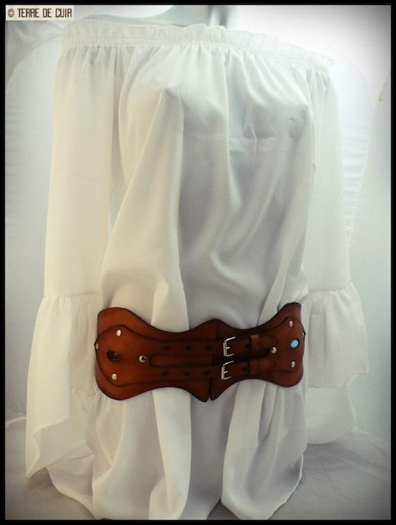 Leather belt Corset   Etsy ff698f3f450