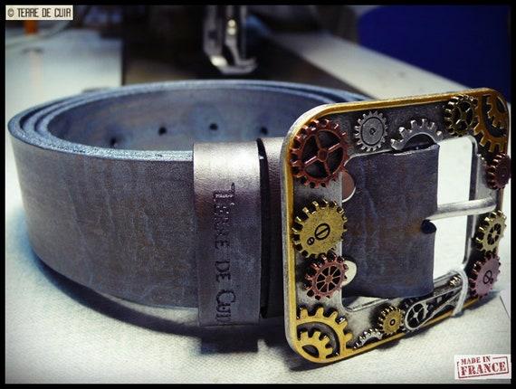Custom Leather Belt vegetable tanned   Etsy 6c9760c1e3d