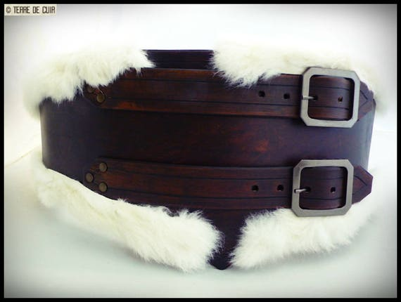 Belt of the Troll rabbit eater leather tanning vegetable   Etsy 24ec6727afe