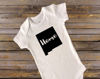 New Mexico Home Shirt. Onesie. Toddler. new mexico, new mexico home, new mexico pride, new mexico state, shirt, home, born in new mexico