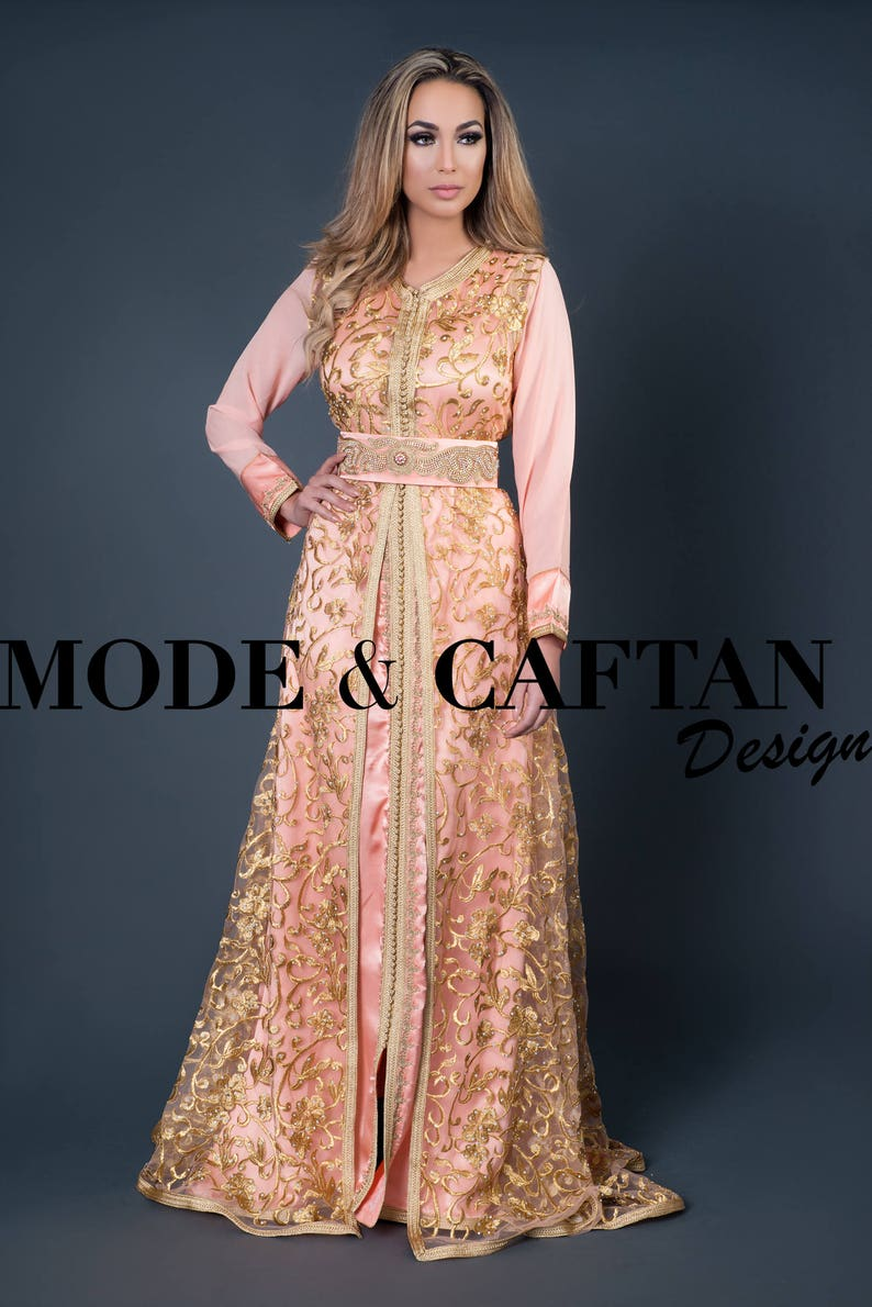 cb171c43a9 Morroccan long kaftan online shop on our store a lot of   Etsy